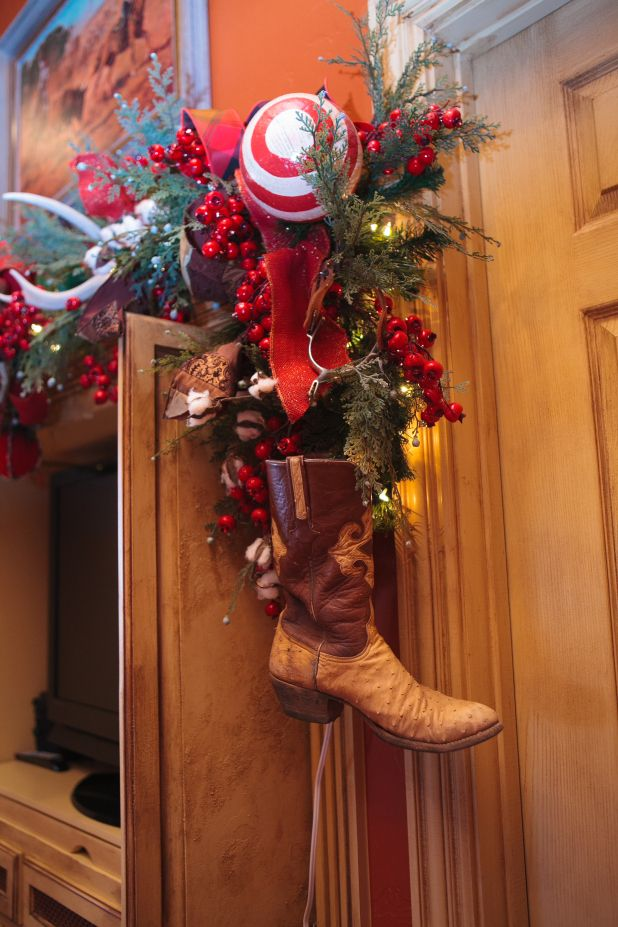 Show Me Christmas All Through The House Western Christmas Christmas Gift Decorations Cowboy Christmas
