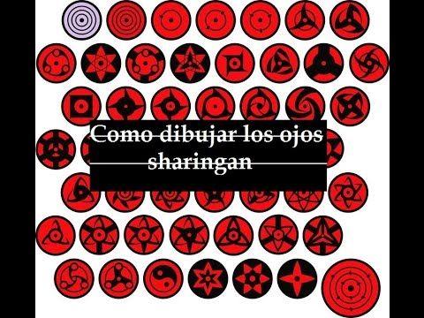 Resultado de imagen para ojos sharingan  Examples  Pinterest