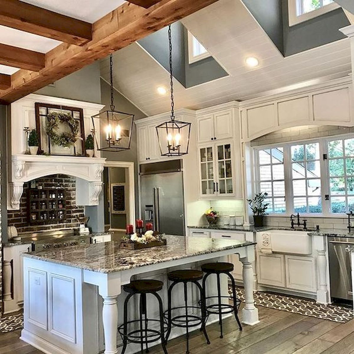 Charming Rustic Kitchen Ideas And Inspirations: 45 Stunning Modern Dream Kitchen Design Ideas And Decor