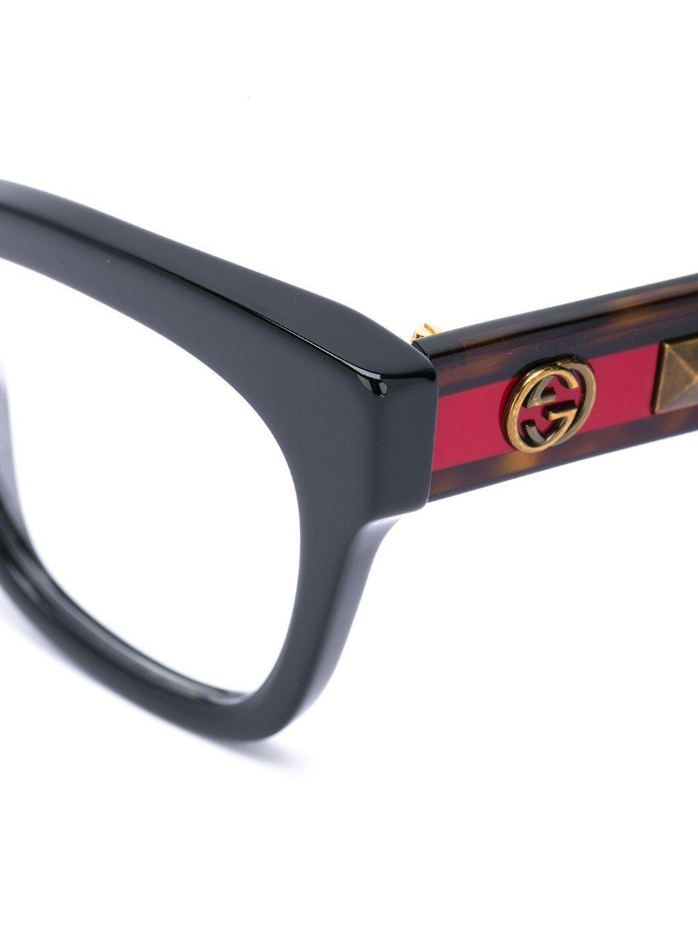 a1f617759889 Gucci Eyewear Cat Eye Square Glasses