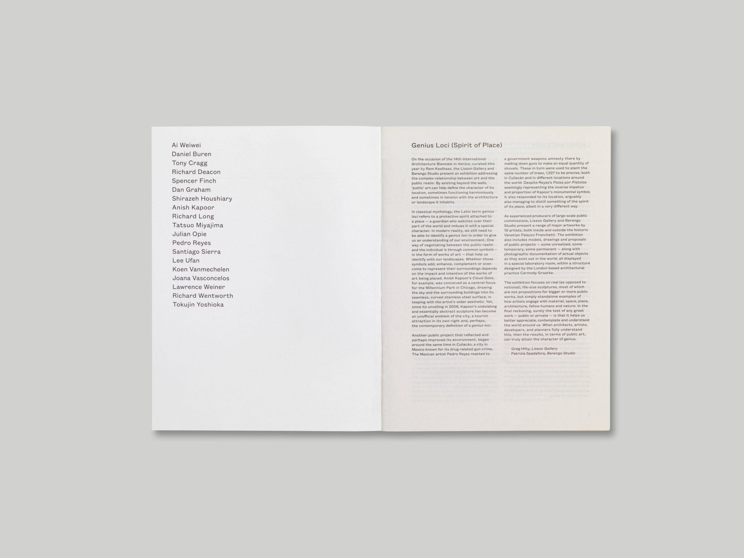 Genius Loci: Spirit of Place — A Practice for Everyday Life Kettle's Yard | A Practice for Everyday Life #graphicdesign #branding #identity #identitydesign