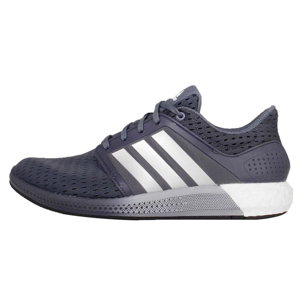 Adidas Solar Boost M Grey Silver White Mens Running Shoes Sneakers D69870