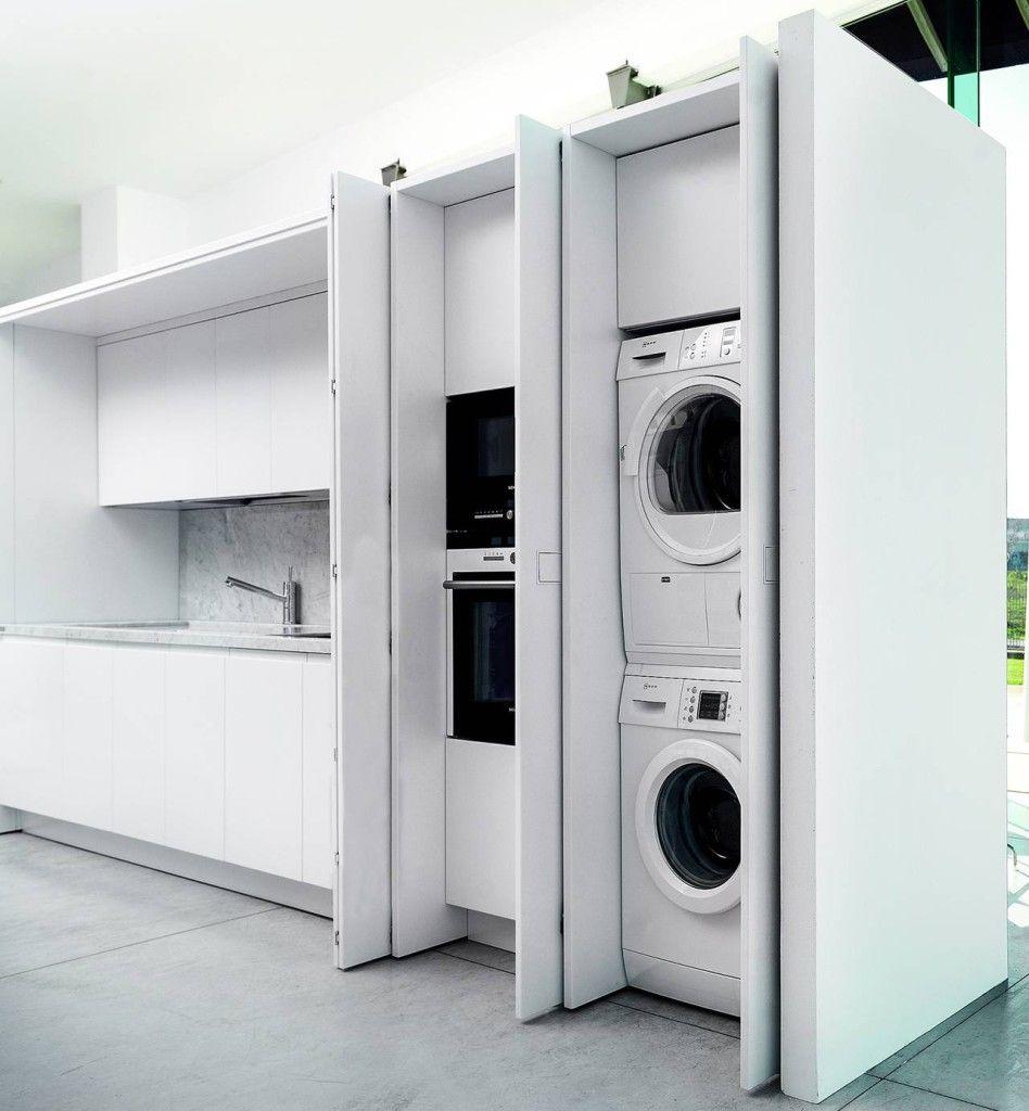 TM Italia D90 lavanderia integrata in cucina House nel