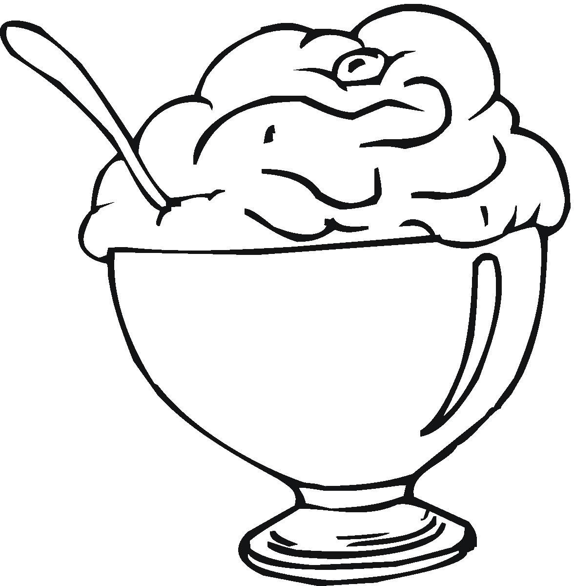 Your Kids Will Love Coloring In These Free Ice Cream Pages Repin