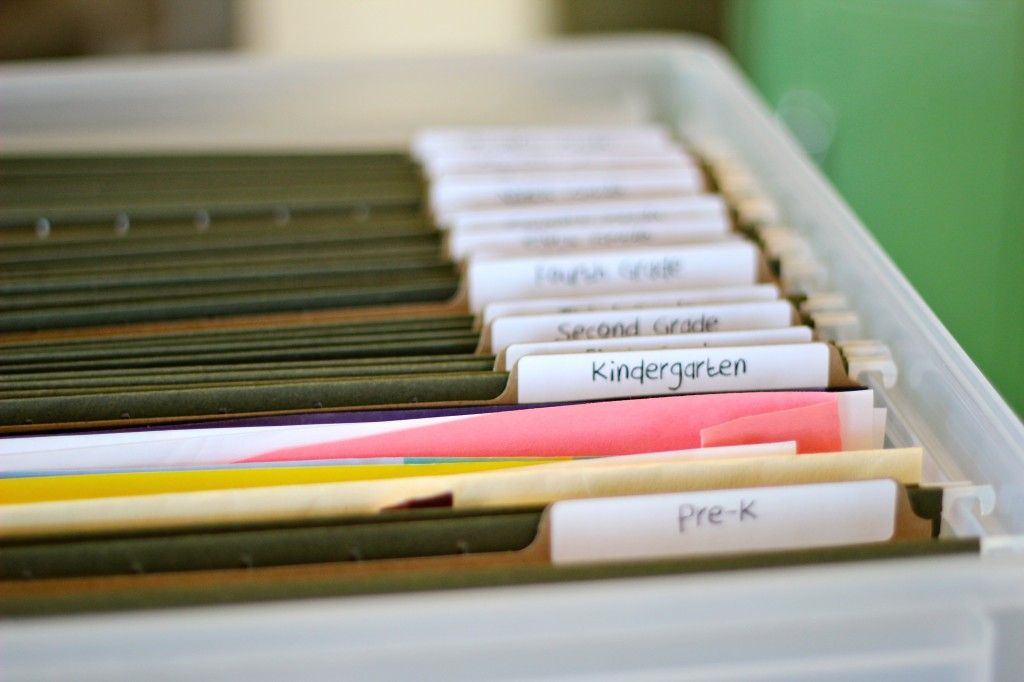 How To Organize Kids School Papers Love This  All Awards