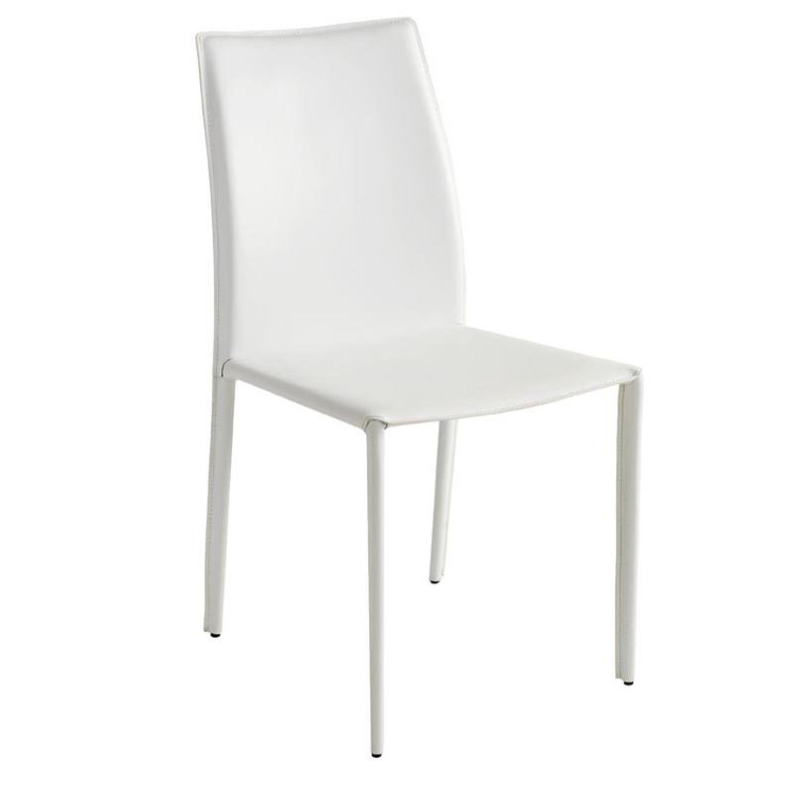 Nuevo sienna dining side chair white dining bench dining furniture white dining chairs