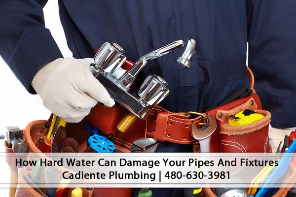 How Hard Water Can Damage Your Plumbing Pipes And Fixtures Hard Water Is Water Which Has A High Mineral Content Two Of With Images Plumbing Repair Leak Repair Hard Water