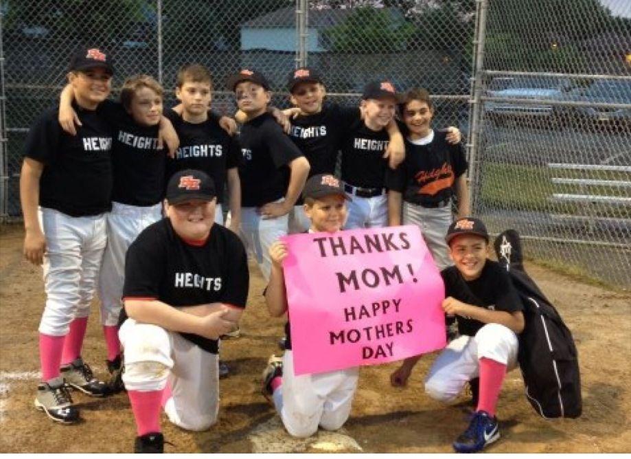 May 11 Hasbrouck Heights Heat Hhh Hasbrouck Heights Baseball League Youth Baseball