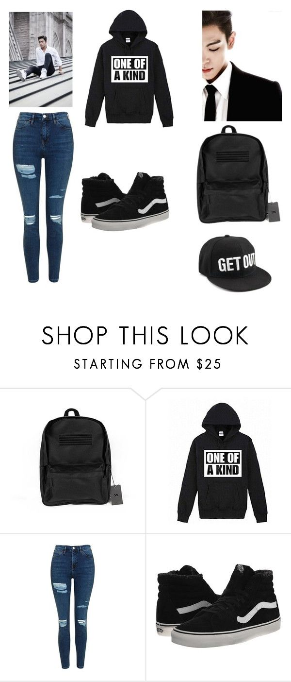 """""""Bigbang for life😍😍"""" by jbeth0730 ❤ liked on Polyvore featuring Topshop, Vans and kpop"""