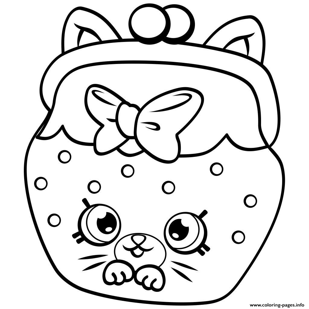 Print Petkins Cat Snout Shopkins Season 4 Coloring Pages