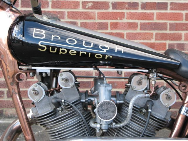 Anthony Godin | Brough Superior SS120 – Prototype