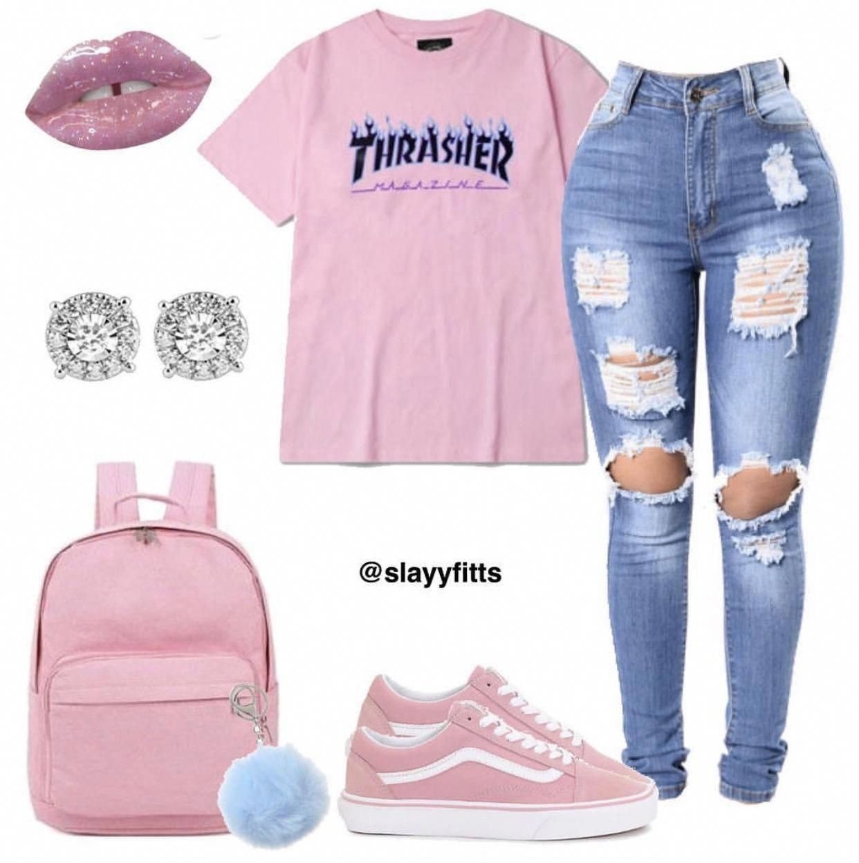 baddie business outfits #Trendyoutfits #baddieoutfitsforschool baddie business o …