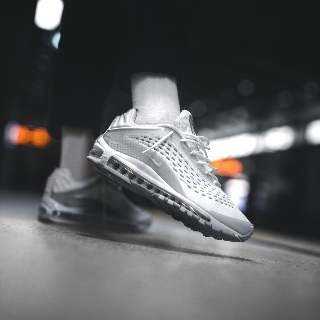 Nike Air Max Deluxe White Pure Platinum | NIKE | Nike air