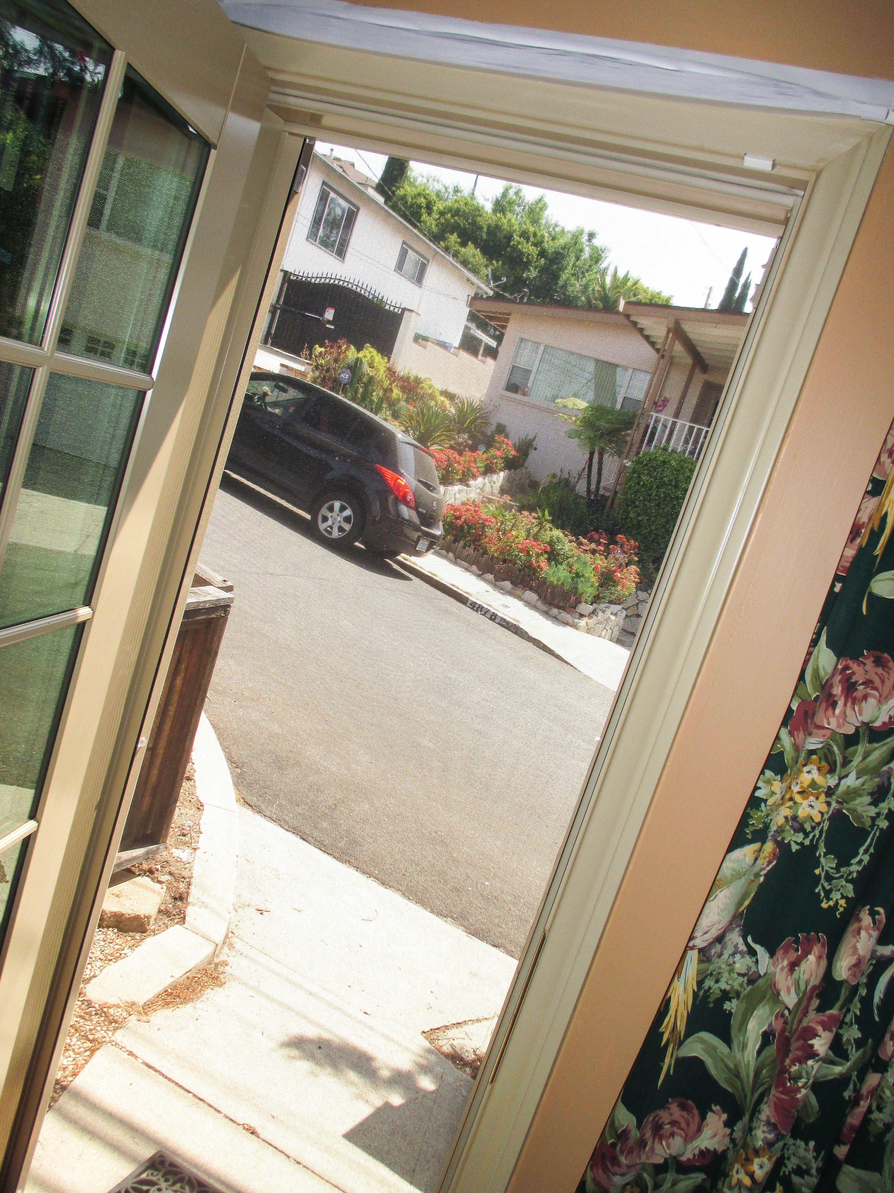 door gallery up screen gallerygarage garage retractable rolled photo screens