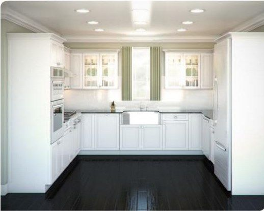 Layout For A Ushaped Kitchen Kitchen  Pinterest  Kitchens Fascinating Kitchen Design For U Shaped Layouts Decorating Design