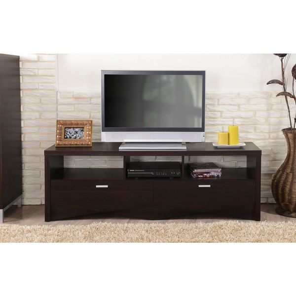 Furniture Of America 59 Inch Espresso TV Stand By Furniture Of America