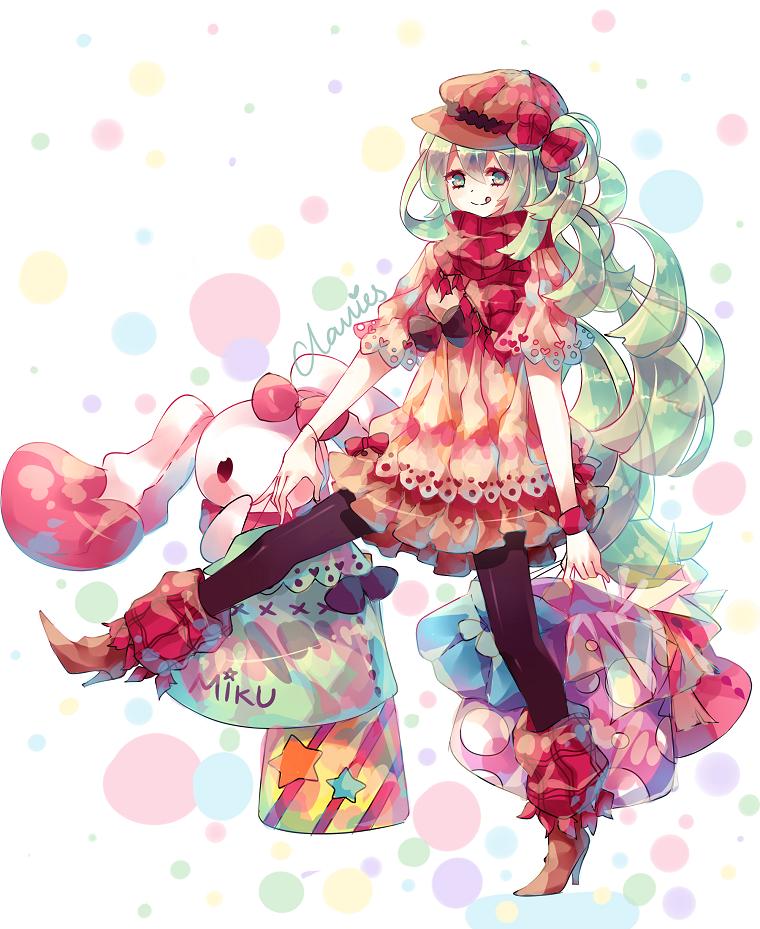 Miku autumn fashion by clavies on deviantart art pinterest manga dessin manga and anime - Dessins manga fille ...