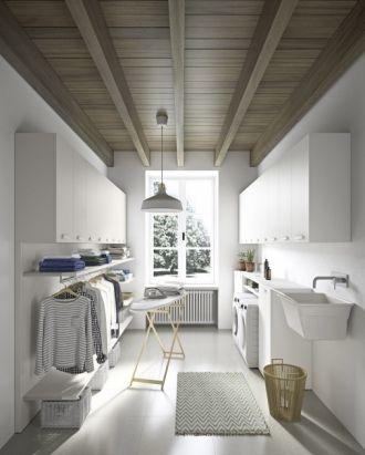 Maatkast wasplaats | Gero Wonen #laundryrooms