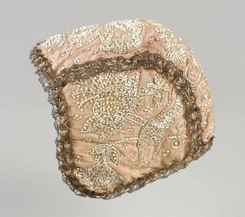Infant's cap possibly French, 18th century France DIMENSIONS Diameter around face: 29 cm (11 7/16 in.) MEDIUM OR TECHNIQUE Embroidery CLASSI...