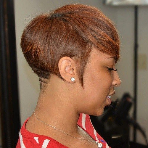 Short Hairstyles For African American Women short brown hairstyle for black women 60 Great Short Hairstyles For Black Women