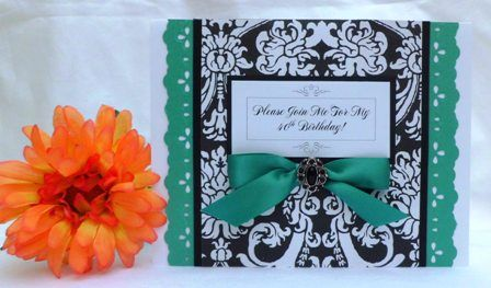 40TH BIRTHDAY PARTY INVITATIONS EXAMPLES OF HANDMADE CARDS