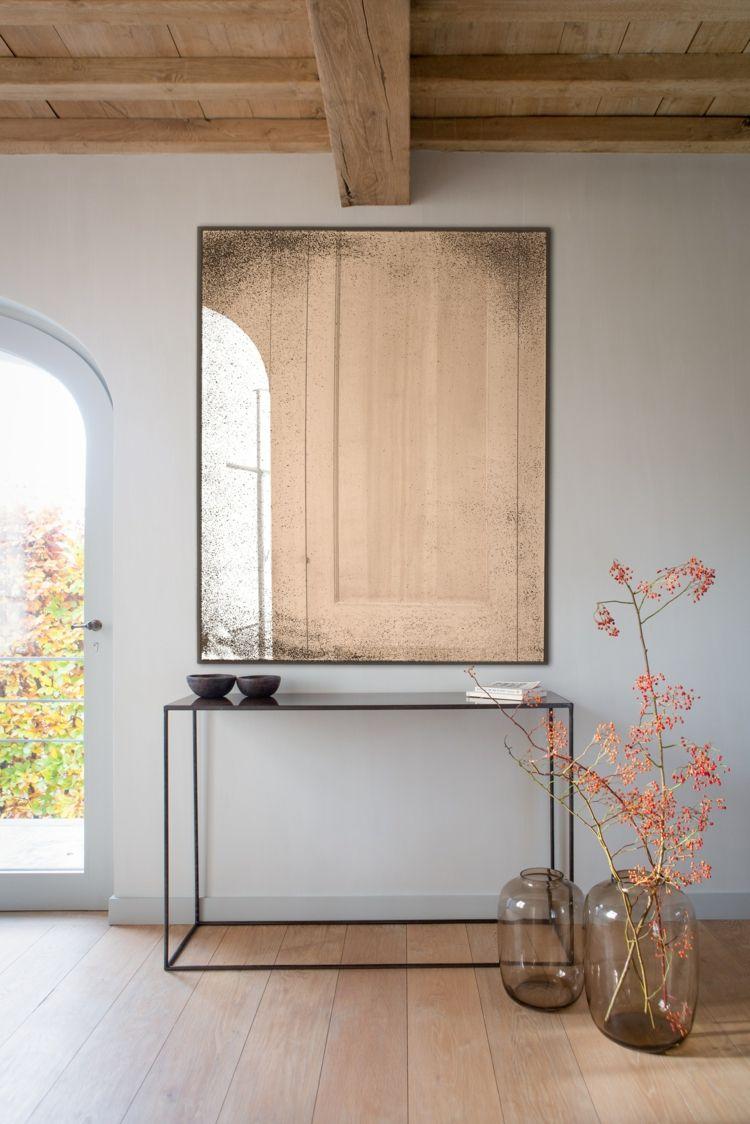 Spiegel im Wohnzimmer – Modelle und schöne Ideen für die