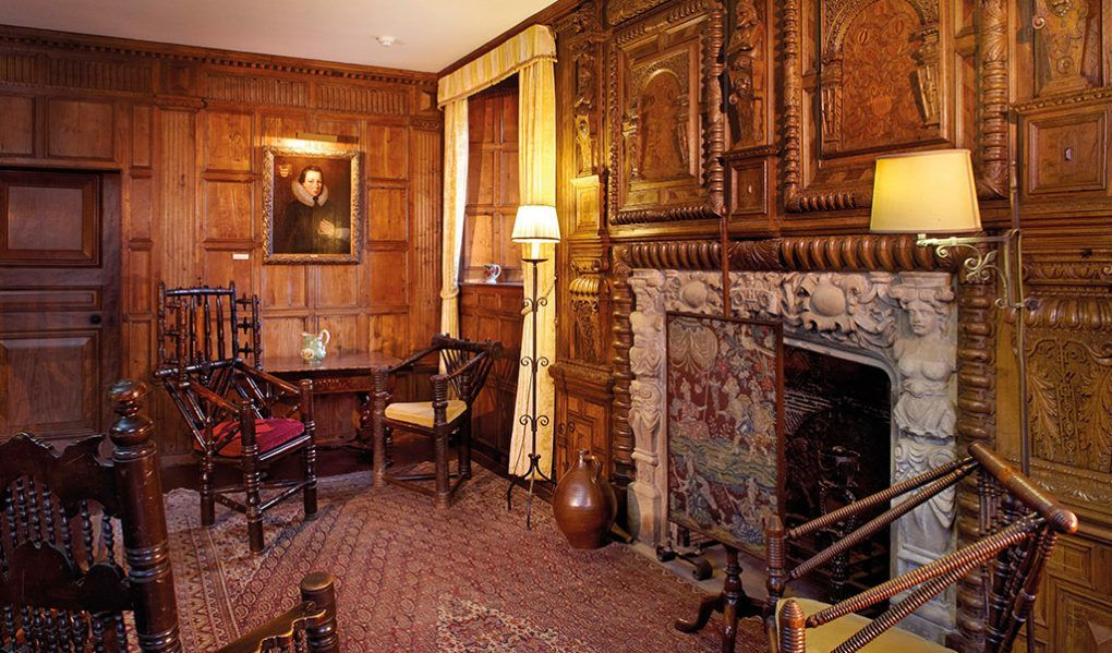 The Morning Room Was A Private Retiring Room In The Tudor
