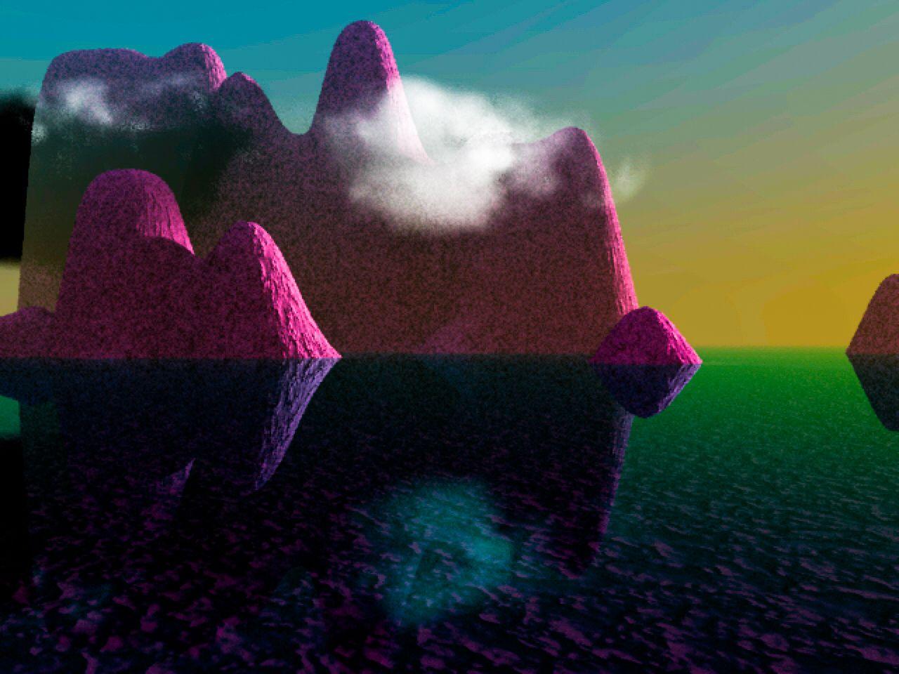 Digital landscape.   Work is my own.   #digitalart #specialeffects #graphicart