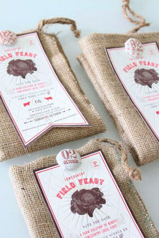 BurlapFabric Brads Packaging Pinterest Packaging design