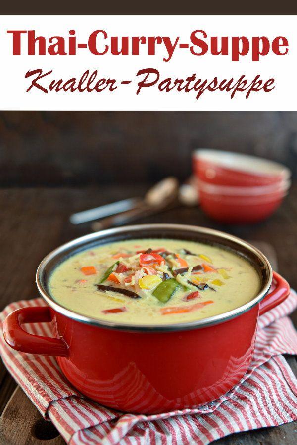 Thai-Curry-Suppe. Knaller!