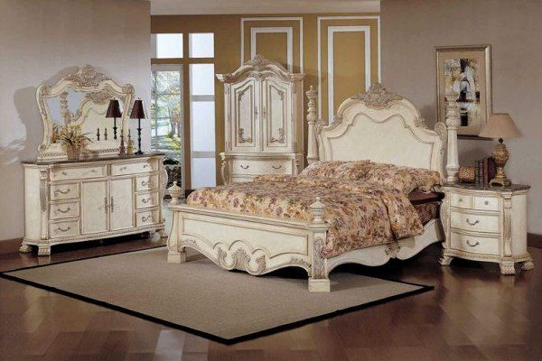 SPEAKING BEDROOM THROUGH VINTAGE FURNITURES | Antique white ...