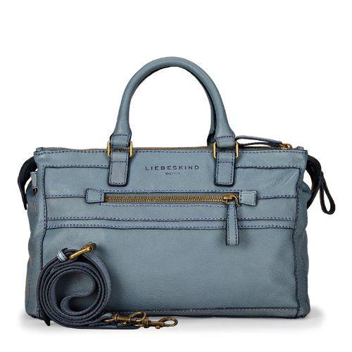 Abbie Soft Blue Vintage Plus - http://designerhandbagsoffer.com/liebeskind-berlin-top-handle-bags/abbie-soft-blue-vintage-plus/