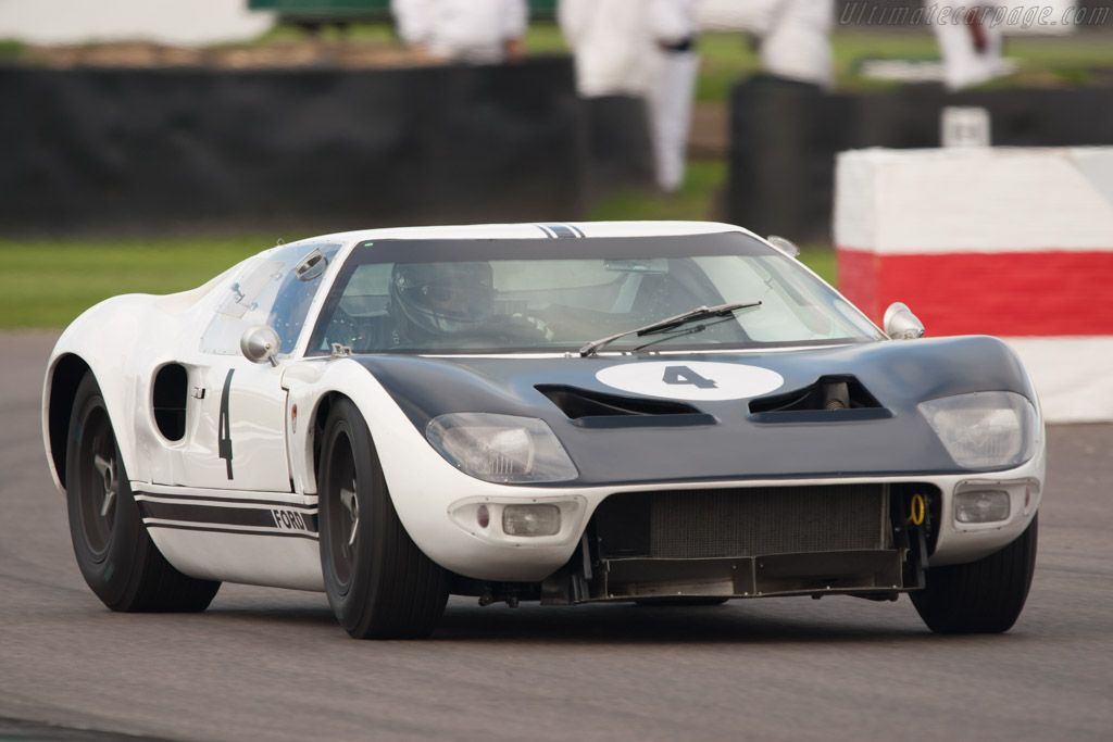 Ford Gt Prototype 1964 Chassis Gt 105 2013 Goodwood Revival Ford Gt Ford Racing Ford Gt40