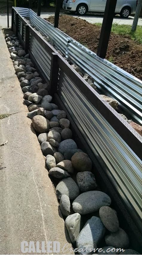 Installing River Rocks Retaining Wall In 2019