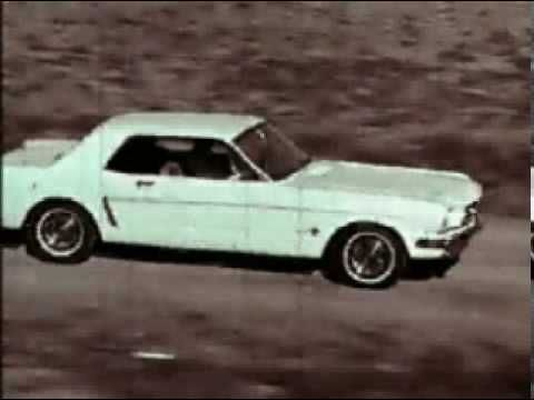 1964 Ford Mustang II Commercial. Can't beat the classic