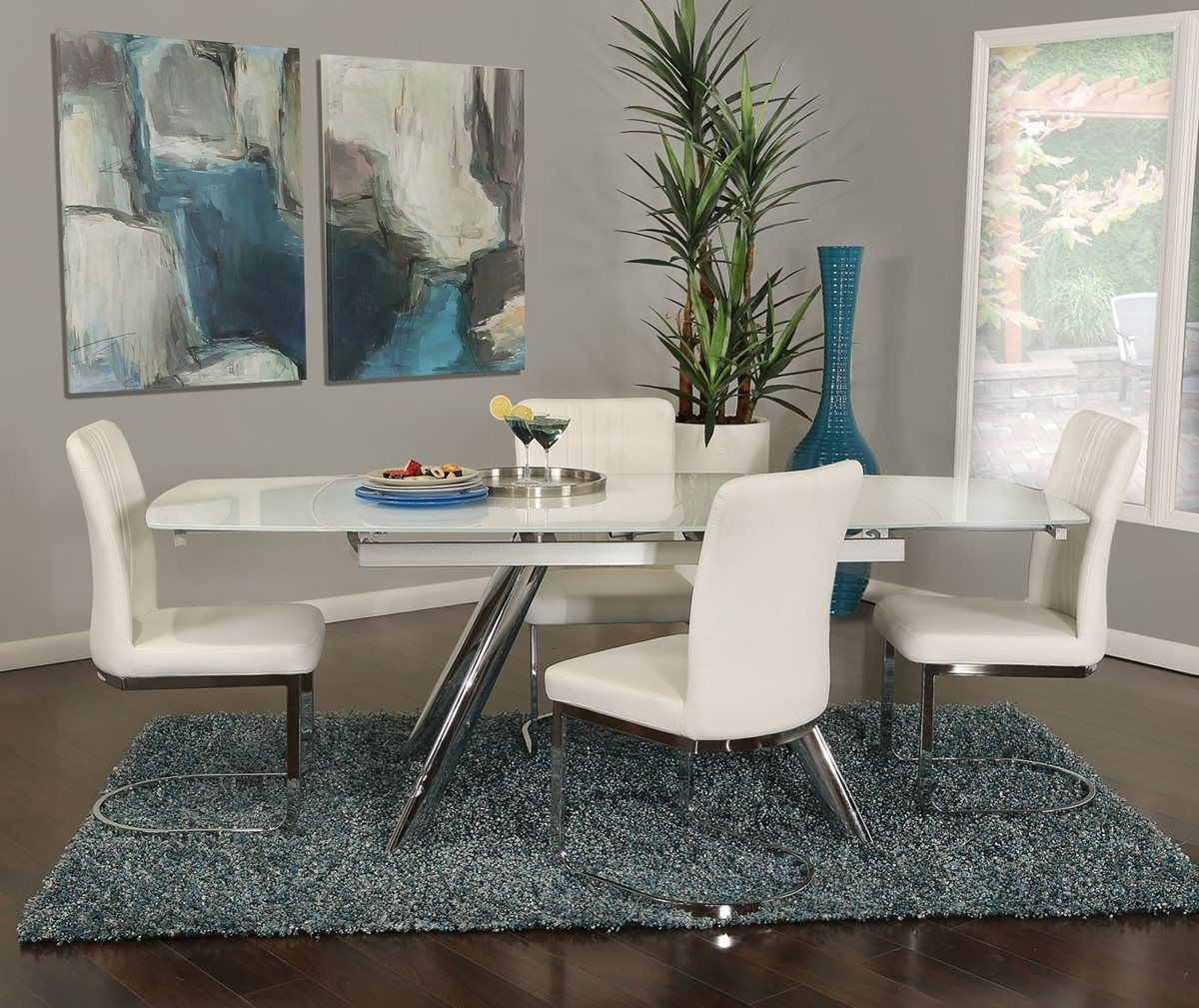 Alina 5 Piece Dining Set In 2019 Dining Room Sets Extension