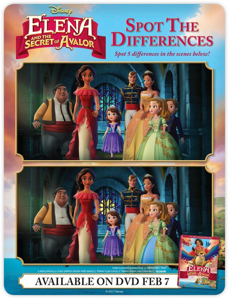 2 Posters NEW Disney Elena of Avalor Color /& Play Activity Book w// Stickers