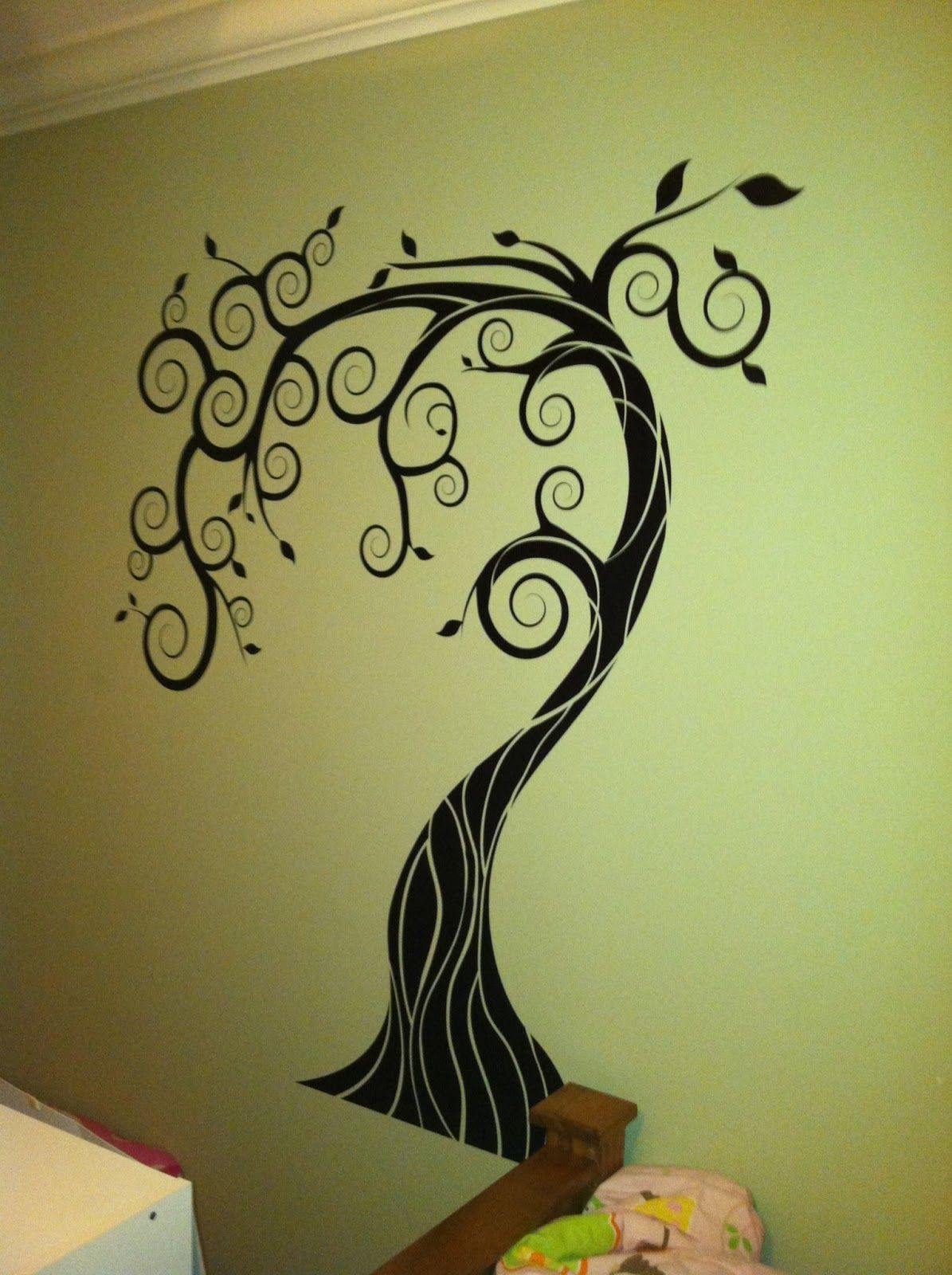 Wall Decals Dezign With A Z : Tree wall decal by dezign with a z and giveaway
