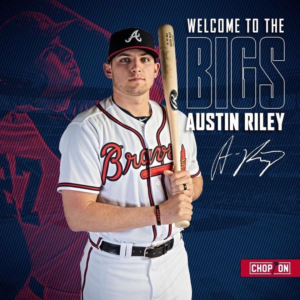 Austinriley Braves 2019 Welcome Atlanta Braves Baseball Atlanta Braves Wallpaper