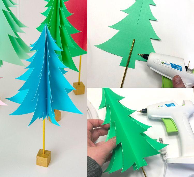 39+ Tannenbaum aus papier basteln Sammlung