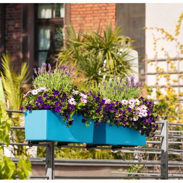 Balconnière Balconera 50 Color Mer du Sud Lechuza - Pot de fleurs à ...