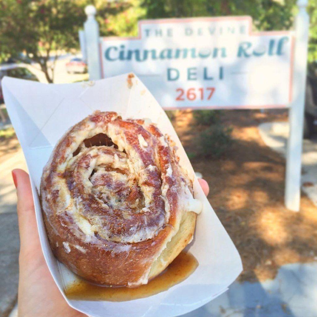 The Devine Cinnamon Roll Deli, Columbia, South Carolina