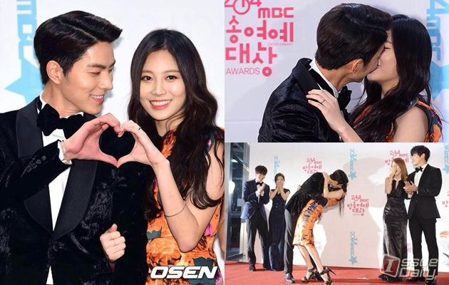 We Got Married Series Love Line between Jonghyun CNBLUE and Seungyeon