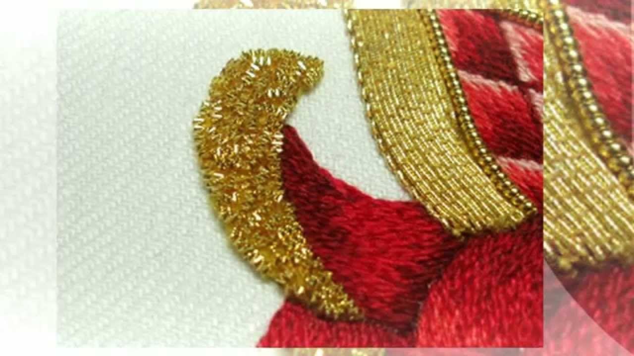 Как сделать цветочную вышивку | вышивка | Постила | 720x1280