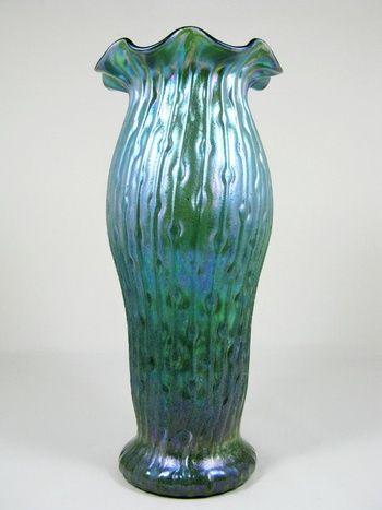 Kralik Sea Urchin Vase Ca 1900 05 Collectors Weekly Art