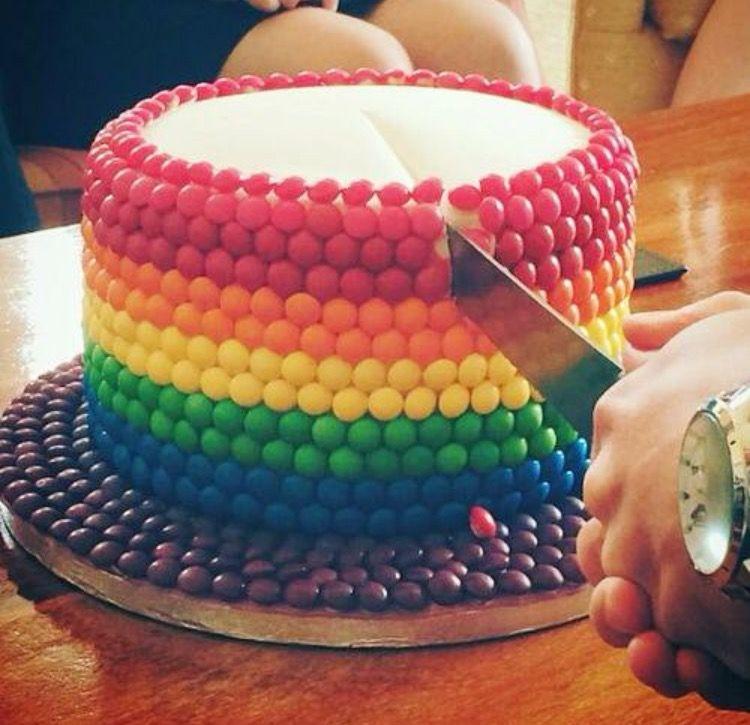 Skittles Cake Asda