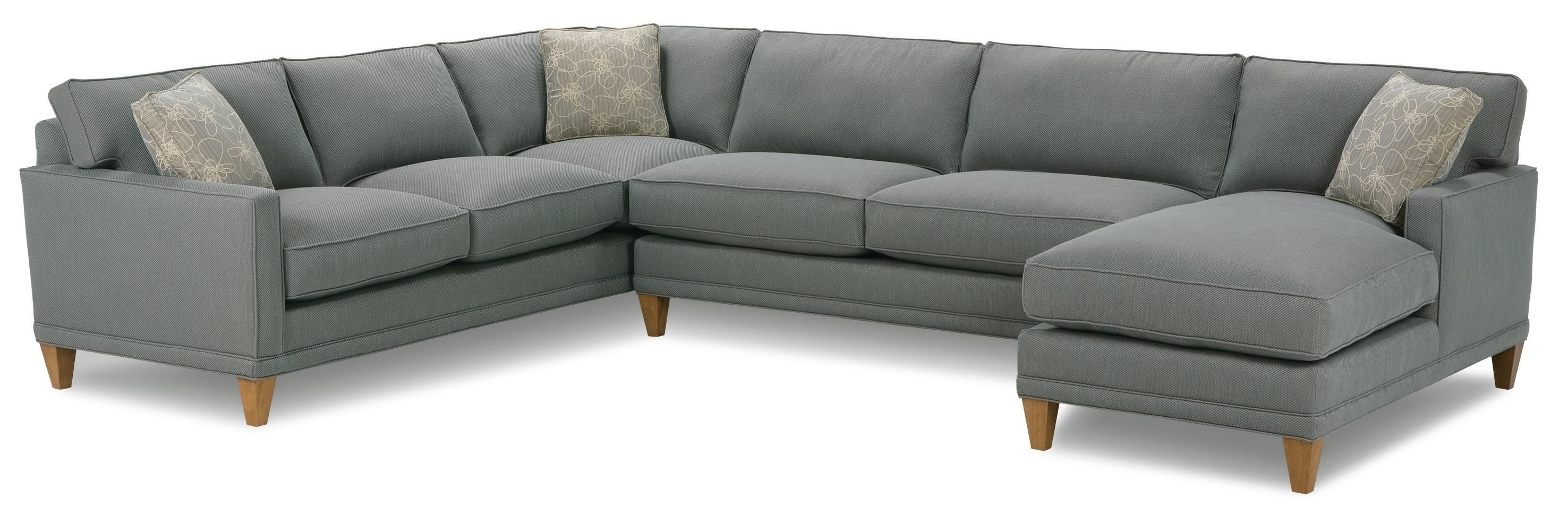 Crisp contemporary modular sectional sofa can be rearranged to fit