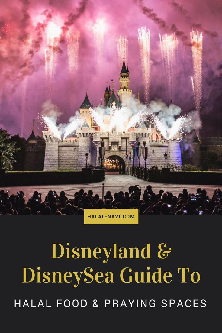 Guide To Halal Food Praying Spaces In Tokyo Disneyland Disneysea Halal Recipes Tokyo Disneyland Tokyo Travel