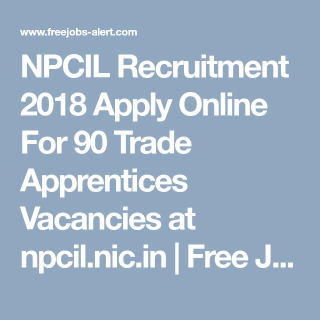 NPCIL Recruitment 2019 Apply Online For 162 Stipendiary