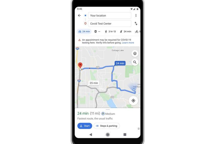 Google Maps update helps you travel while socially ...